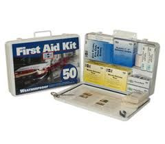 Basic Medical 50 Person First Aid Kit 6/Case