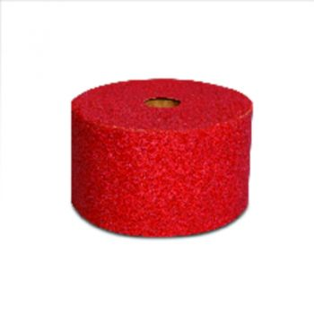 3M™ Red Abrasive Stikit™ Sheet Roll, 01688, P80, 2-3/4 in x 25 yd, D weight, 6 rolls per case