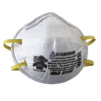 3M 8110S N95 Particulate Respirator, Small