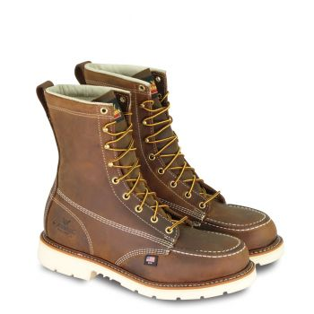 Thorogood American Heritage 8″ Trail Crazy Horse Safety Toe MOC Toe MaxWear90™