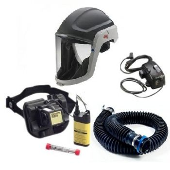 3M Breathe Easy 1 System Assembly (Hard Facemask System)