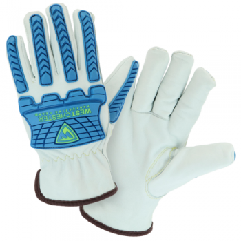 PIP West Chester 9120 Top Grain Sheepskin Leather Drivers Glove, 1 Pair
