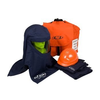 PIP PPE 3 Arc Flash Kit - 33 Cal/cm2 Jacket Backpack Color Blue