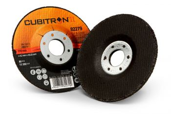 3M™ Cubitron™ II Cut and Grind Wheel, 82279, T27, 4 1/2 in x 1/8 in x 7/8 in, 10 per inner, 20 per case