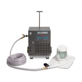 Allegro 9221-01CA 9221-02CA Cold Air Hood Single Bib System 100' Hose (1/EA)