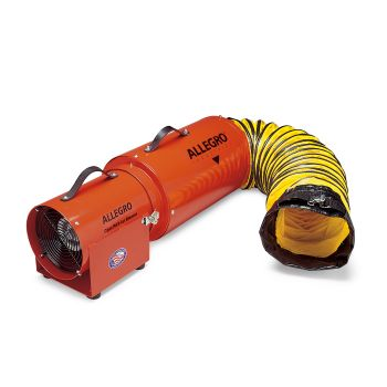 Allegro 9533-15 Plastic COM-PAX-IAL Blower with Canister and Ducting