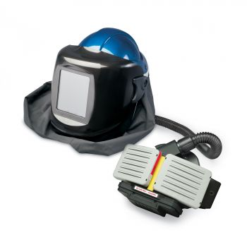 Allegro 9934-WB EZ Air Pro Black Welding Helmet PAPR