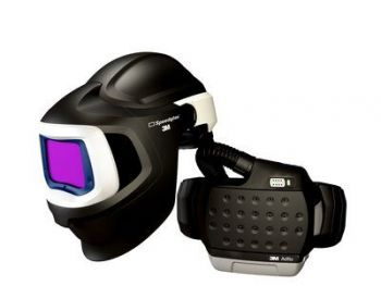 3M Adflo 37-1101-30iSW Powered Air HE System with 3M Speedglas Welding Helmet 9100 MP