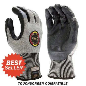 Armor Guys Taeki5 Work Glove Gray Color- 12 Pairs
