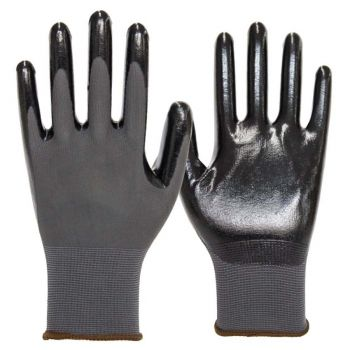 Armor Guys Duty Work Glove Black Color - 12 Pairs