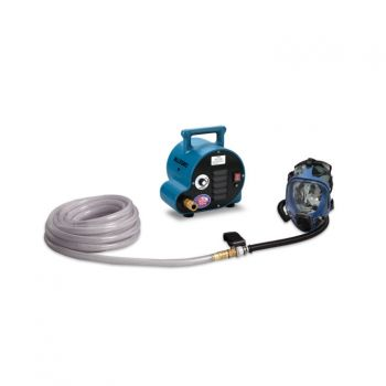 Allegro 9200-02A 2-Worker Full Mask Breathing Air Blower Respirator System w/ 50' Hose