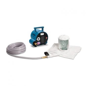 Allegro 9222-01A 1-Worker Double Bib Tyvek Hood Breathing Air Blower Respirator System w/ 50' Hose