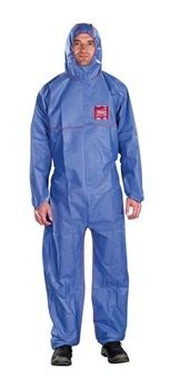 Ansell Microchem® AlphaTec® 1500 PLUS FR Model 111 Hooded Coverall 25/Case