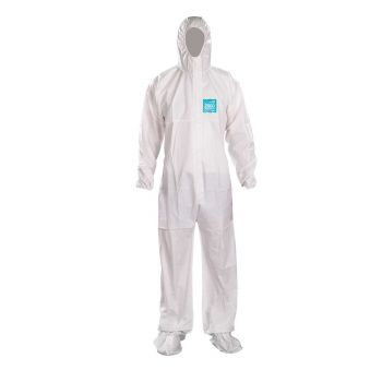 Ansell Microchem® by AlphaTec®  2000 WH20-B-92-107 Hooded Coverall 25/Case