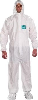 Ansell MicroChem® by AlphaTec® 1800‭ WH18-B-92-107‬ Model 107 Coveralls 25/Case