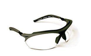 3M™ Maxim™ GT Protective Eyewear 14246-00000-20 Clear Anti-Fog Lens, Metallic Gray and Black Frame Color 20 EA/Case