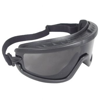 Radians Barricade - Smoke Safety Glasses Indirect Vent Style Smoke Color - 12 Pairs / Box