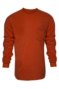 NSA C54VRLS Truecomfort FR Long Sleeve T-Shirt Orange