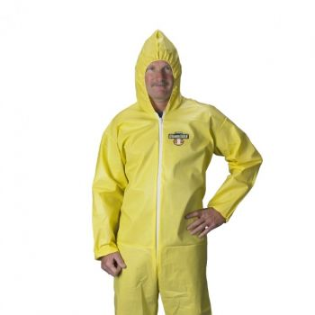 Lakeland ChemMax1 C55414 Coverall - Bound Seam (Ebola Protective Suit) 25/Case