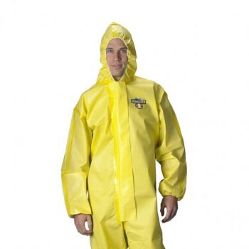 Lakeland 70130 C1T130Y ChemMax 1 Coverall Sealed Seam 6/Case