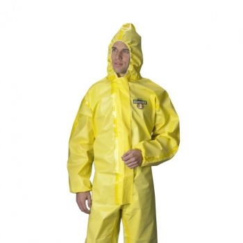 Lakeland C1T150Y, C70150 ChemMax 1 Coverall - Sealed Seam - Hood & Attached Boots ( 6 per case)