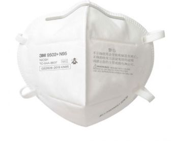 3M 9502+ N95 Particulate Respirator - Bag of 50