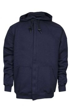 NSA C21IF05 Navy Heavyweight Zip Front FR Sweatshirt