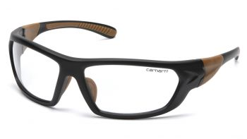 Pyramex Carbondale Clear Lens With Black/Tan Frame (1 Box of 12)
