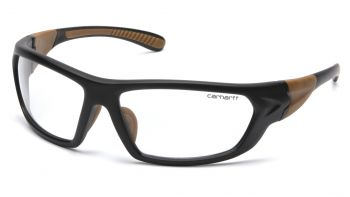 Pyramex Carbondale Clear Anti-Fog Lens With Black/Tan Frame (1 Box of 12)