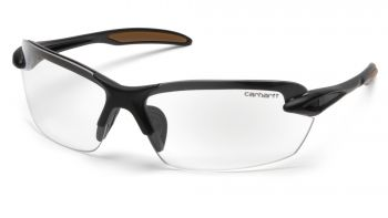 Carhartt  Spokane  Clear Lens with Black Frame  Safety Glasses  12/BX