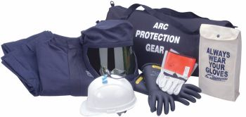 CPA AG40 - 40 CAL Jacket & Bib Arc Flash Clothing Kit - PPE Category 4