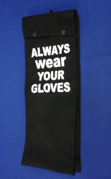 "19"" Glove Bag for Rubber Insulated Gloves"