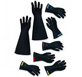 Chicago Protective Apparel (CPA) Class 2 Insulating Rubber Gloves LRIGNG-2-14