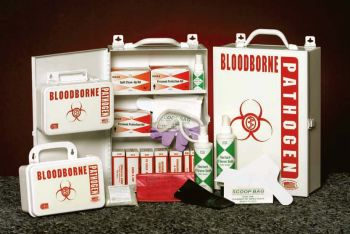 Bloodborne Pathogen Cabinet Kit