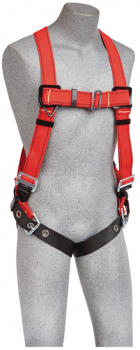 3M™ PROTECTA® PRO™ Vest-Style Harness for Hot Work Use 1191384, Red, X-Large