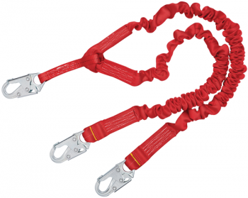 3M Protecta 1340141 PRO Stretch 100% Tie-Off Shock Absorbing Lanyard