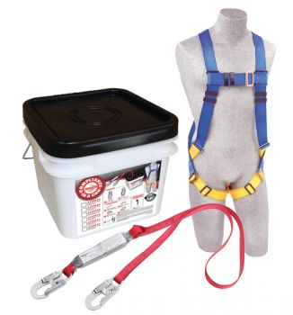 3M Protecta 2199805 Compliance in a Can Light Roofer's Fall Protection Kit, Case Of 12