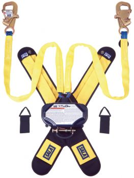 3M™ DBI-SALA® Talon™ Twin-Leg Tie-Back Quick Connect Self Retracting Lifeline, Web 3102100