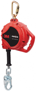 3M™ PROTECTA® Rebel™ Self Retracting Lifeline - Cable 3590517, Red, 20 ft. (6.1 m)
