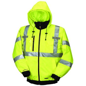 Dewalt High Visibility Class 3 Three-in-one Heated Jacket  Yellow Color - 1 / Box
