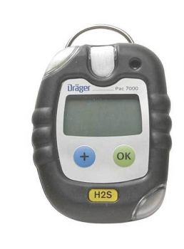 Draeger Pac 5500 Single-Gas Monitors, Co, 0 to 500 ppm