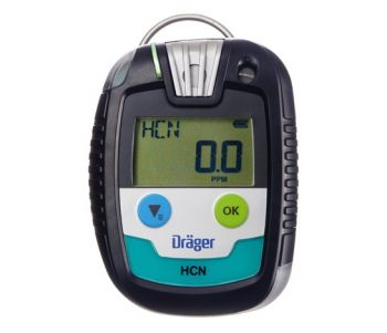 Drager PAC 8000 8326356 Single Gas Monitor Organic Vapors OV 0 – 200 ppm 10 / 20 ppm