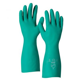 DuPont™ Tychem®  NT470 GR UL Unlined, Nitrile Gauntlet With Chemical Resistance Gloves 144/Pairs