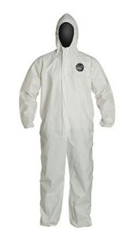 DuPont™ ProShield® 10 PB127S BU Hooded Coverall 25/Case