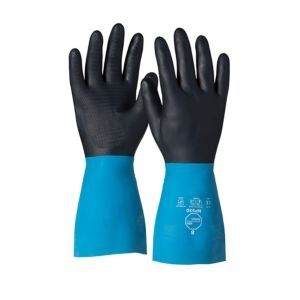 Dupont™ Tychem® NP530 BK CF Chemical Resistant Gloves 26 Mil 144/Pairs