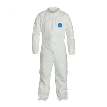 DuPont Tyvek TY120S Coveralls, Open Wrists and Ankles