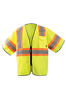 OccuNomix Two Tone Mesh Safety Vest ECO-GCZ32T