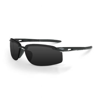 Radians ES5W Smoke Black Safety Glasses 12 PR/Box