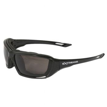 Radians Extremis - Smoke AF Safety Glasses  Style Black Color - 12 Pairs / Box