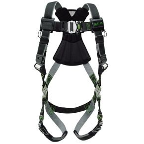 Honeywell RKN-QC/UBK Miller Revolution Harness with Kevlar-Nomex Webbing Quick-Connect Buckle Legs